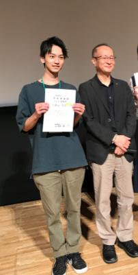 受賞した久保田さん